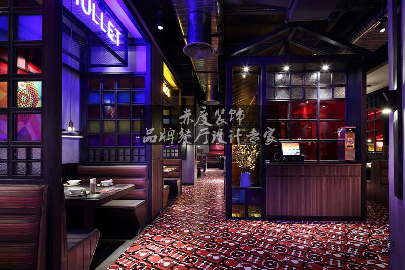 火锅店设计中色彩风水学对其影响图片
