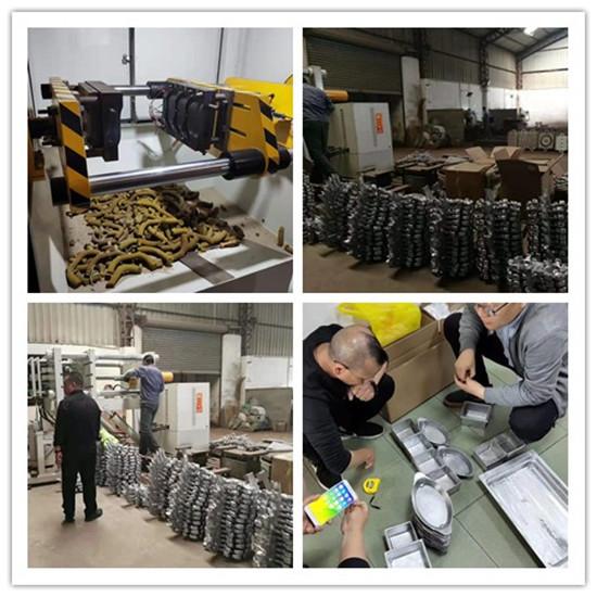 东莞市厚街坤泰铸造机械设备厂铝铸件车间